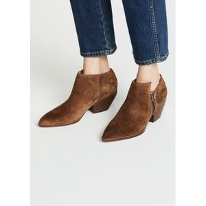 Sigerson Morrison Hannah Point Toe Booties NWT